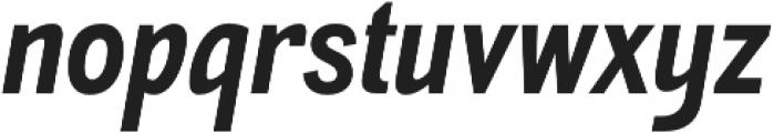 Akazan Bold Italic otf (700) Font LOWERCASE