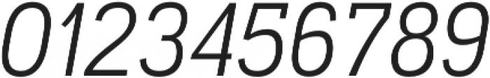 Akazan Book Italic otf (400) Font OTHER CHARS