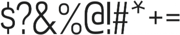 Akazan Book otf (400) Font OTHER CHARS