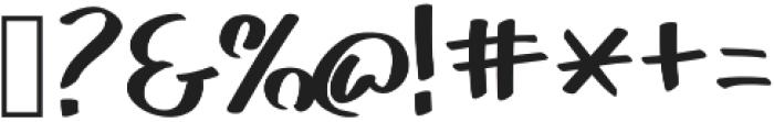 Akim otf (400) Font OTHER CHARS