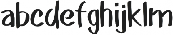 Akim otf (400) Font LOWERCASE
