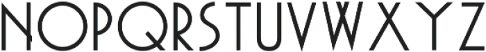 Akita otf (400) Font UPPERCASE