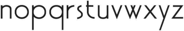 Akita otf (400) Font LOWERCASE