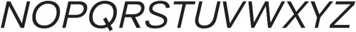 Aksara otf (400) Font UPPERCASE