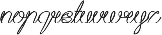 Aku Cinta Kamu ttf (400) Font LOWERCASE