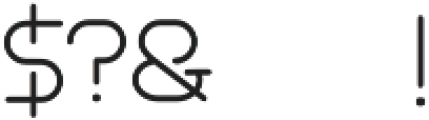 Akur Font otf (400) Font OTHER CHARS