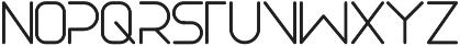 Akur Font otf (400) Font LOWERCASE