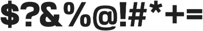 Akzentica 4F ExtraBold otf (700) Font OTHER CHARS