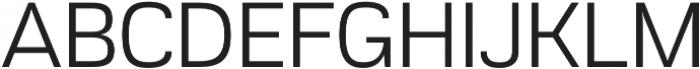 Akzentica 4F otf (400) Font UPPERCASE
