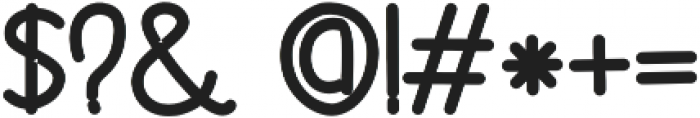 akiko Bold otf (700) Font OTHER CHARS