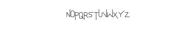 AkurFont.ttf Font UPPERCASE