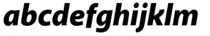 Akagi Pro Black Italic Font LOWERCASE