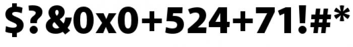 Akagi Pro Black Font OTHER CHARS