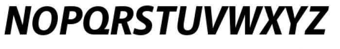Akagi Pro Extra Bold Italic Font UPPERCASE