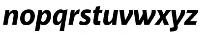 Akagi Pro Extra Bold Italic Font LOWERCASE