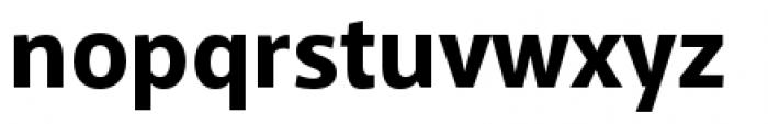 Akagi Pro Extra Bold Font LOWERCASE