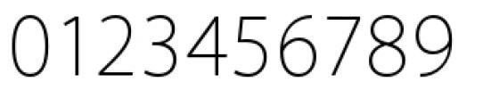 Akagi Pro Extra Light Font OTHER CHARS