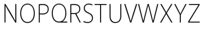 Akagi Pro Extra Light Font UPPERCASE