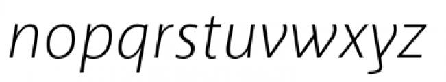 Akagi Pro Light Italic Font LOWERCASE