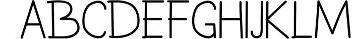 Akiko & Kiota 1 Font UPPERCASE