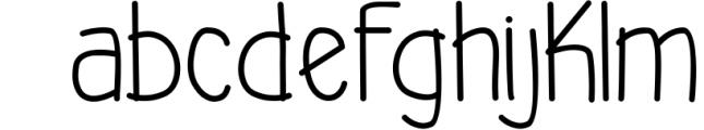 Akiko & Kiota 1 Font LOWERCASE