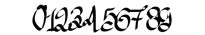 Aka-AcidGR-AlmostGothic Font OTHER CHARS
