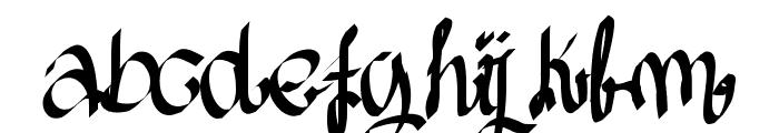 Aka-AcidGR-AlmostGothic Font LOWERCASE