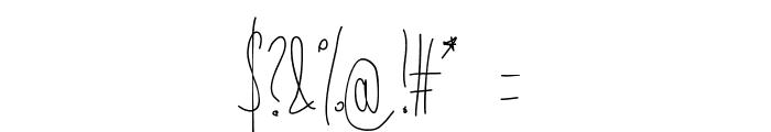 Aka-AcidGR-BadKitty Font OTHER CHARS