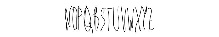Aka-AcidGR-BadKitty Font UPPERCASE