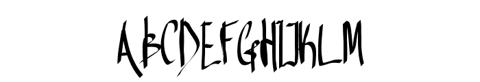 Aka-AcidGR-BriefEncounter Font UPPERCASE