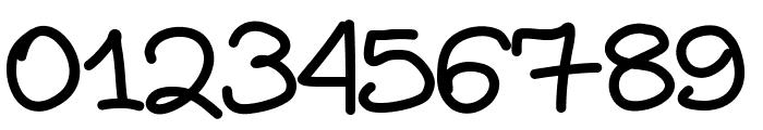 Aka-AcidGR-DiaryGirl Font OTHER CHARS