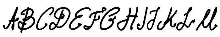 Aka-AcidGR-FatMarker Font UPPERCASE