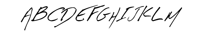 Aka-AcidGR-Fifindrel Font UPPERCASE