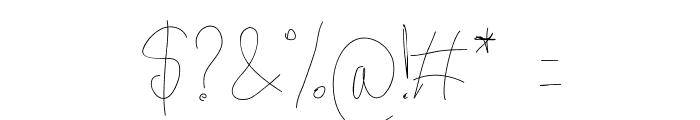 Aka-AcidGR-Gorgi Font OTHER CHARS