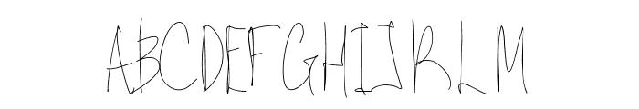 Aka-AcidGR-Gorgi Font UPPERCASE