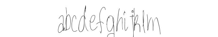 Aka-AcidGR-Gorgi Font LOWERCASE