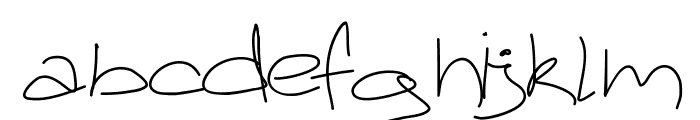 Aka-AcidGR-GreekPharmacist Font LOWERCASE