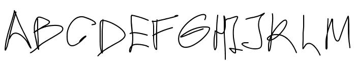 Aka-AcidGR-Hurry Font UPPERCASE