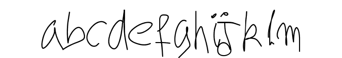 Aka-AcidGR-Hurry Font LOWERCASE
