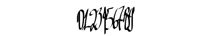 Aka-AcidGR-Inky Font OTHER CHARS