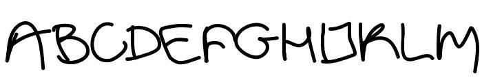 Aka-AcidGR-Limbo Font UPPERCASE