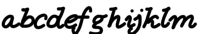 Aka-AcidGR-Loving Font LOWERCASE