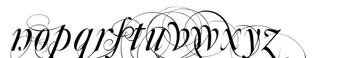 Aka-AcidGR-Mutlu Font LOWERCASE