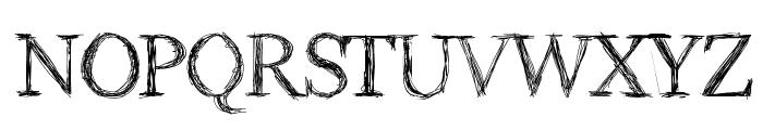 Aka-AcidGR-RomanScript Font UPPERCASE