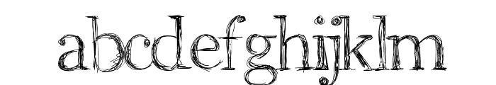 Aka-AcidGR-RomanScript Font LOWERCASE