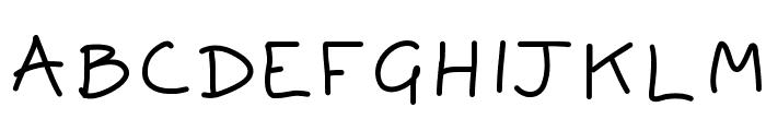 Aka-AcidGR-Safe Font UPPERCASE
