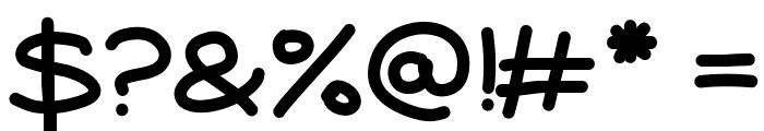 Aka-AcidGR-Sausages Font OTHER CHARS