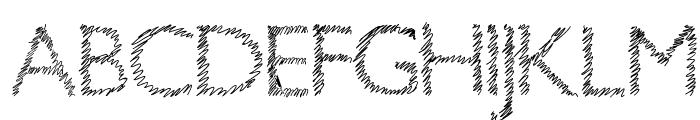 Aka-AcidGR-ScrachThis Font UPPERCASE