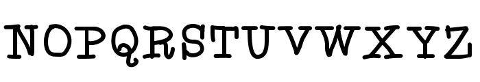 Aka-AcidGR-Serif Font UPPERCASE