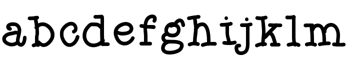 Aka-AcidGR-Serif Font LOWERCASE